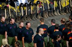 Thousands Gather to Honor 19 Arizona Firefighters