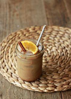 Orange Spice Iced Coffee | Kitchen Treaty