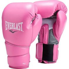 Everlast Protex 2 Pink Training Boxing Gloves Pink 12 oz