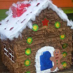 Ginger house piñata