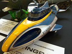 SCALE MODEL NEWS: SMALLSPACE 4 - GERRY ANDERSON TV SERIES