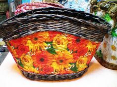 ▬► Летняя сумка «Цветочная поляна».  Часть 7.