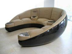 37 Awesome Modern Sofa Design Ideas - 2020 Home design Sofa Furniture, Sofa Chair, Pallet Furniture, Sofa Set, Living Room Furniture, Modern Furniture, Furniture Design, Furniture Buyers, Luxury Furniture