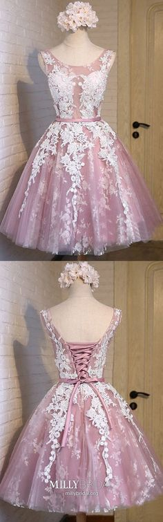 short homecoming dresses,lace homecoming dresses,pink homecoming dresses,short prom dresses,simple homecoming dresses · DestinyDress · Online Store Powered by Storenvy Simple Homecoming Dresses, Prom Dresses For Teens, Prom Dresses 2018, Dresses Short, Cheap Prom Dresses, Trendy Dresses, Ball Dresses, Ball Gowns, Evening Dresses