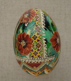 Ukrainian Pysanka by Ira GOOSE Egg Shell Pysanky   eBay