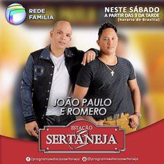João Paulo e Romero no Estação Sertaneja