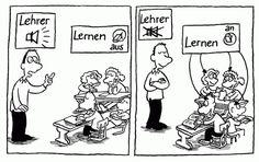 Bildergebnis für karikaturen zum thema schule