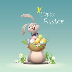 - 2 or more color gradient used Happy Easter Messages, Happy Easter Quotes, Easter Bunny Images, Happy Easter Bunny, Easter Illustration, Easter Wallpaper, Coloring Easter Eggs, Safari Nursery, Religion