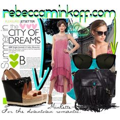 @RebeccaMinkoff @Polyvore #RMSunnies   Rebecca Minkoff: Summer in the City of Dreams, created by minniesoda on Polyvore