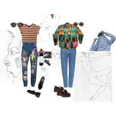 trainspotting by augvilesim on Polyvore