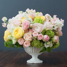 This Opulent and Luxurious Spring Garden Arrangement is perfect for mom! By BloomNation local florist Be a Tall Poppy!