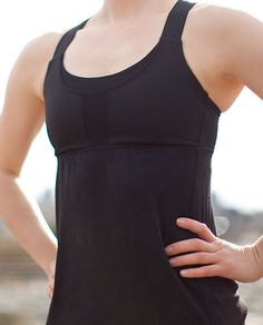 Lululemon Run: Stuff Your Bra Tank. Such a great top! all kinds of hidden compartments for keys and stuff.