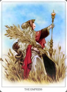 ☆ Tarot: The Empress :: By ~JohanndeVenecia ☆ Tarot The Fool, The Moon Tarot, Wiccan, Magick, Pagan, The Magician Tarot, Dragon Comic, Star Tarot, Tarot Major Arcana