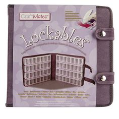craftmates LOCKING CRAFT CASE W/ 56 COMPARENTS. $18.99 Michael's Arts and Crafts