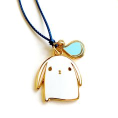 bunny pain charm pendant