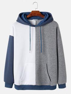 Trendy Hoodies, Cool Hoodies, Men's Hoodies, Sweat Cool, White Hoodie, Mens Sweatshirts, Types Of Fashion Styles, Fashion Outfits, Fashion Fashion