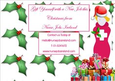 Gift Yourself with a Job from Nurse Jobs Ireland Check out our Jobs Boards at http://www.nursejobsireland.com/all-jobs/