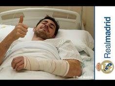 Sergio Ramos Iker Casillas intervenido con éxito