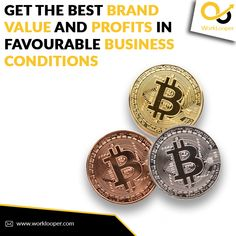 Get the Best Brand Value and Profits in Favourable Business Conditions #Business #BrandValue #BusinessProfits #BusinessGrowth #IncreaseBrandValue #EstablishBrands #BrandStrategy Exponential Growth, Crypto Coin, Branding Services, Crypto Market, Raise Funds, Make More Money, Best Brand, Blockchain, Cryptocurrency