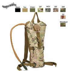 Tactical Hydration Pack, Water Bottle Pouch, Tactical molle pouch, Tactical Molle bag, Assault pack,Combat pack, Military Camouflage pack-Product Center-Sunnysoutdoor Co., LTD-