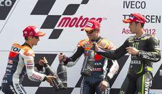 El podium de MotoGP