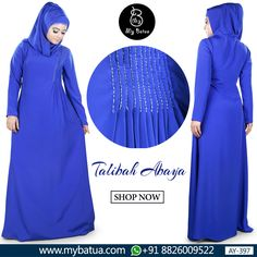 Trendy touch to ethnic wear. Talibah Abaya is a stunning wear for modest yet stylish Muslimahs. Check here: https://www.mybatua.com/womens/abaya/talibah-abaya #abaya #talibahabaya #muslimahfashion #spring2018 #mybatua #muslimah #modestfashion #hijabista #ramadan2018