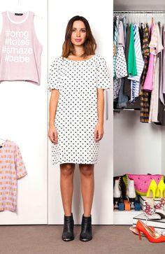 Coat Hanger, Fashion Forward, Cool Style, Polka Dots, Chic, Stylish, Shopping, Dresses, In Trend