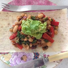 Via: @your_mayte | Mexican beans breakfast with Mountain Bread | Healthy Recipe