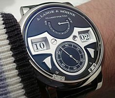 A. Lange & Sohne WG Zeitwerk Striking Time