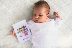 Bébé cartes Milestone, bébé mois cartes, cartes Photo bébé, Baby Prop cartes, Milestone cartes, cartes de Moments