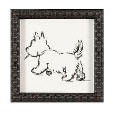 Dog Days Prints - use charcoal! Highlands Terrier, West Highland Terrier, Cairn Terriers, Terrier Dogs, Westies, Norwich Terrier, West Highland White, White Terrier, Scottish Terrier