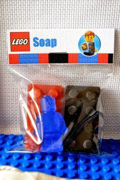 Lego City Police themed birthday party via Kara's Party Ideas KarasPartyIdeas.com Cake, decor, printables, invitation, favors, stationery, and more! #lego #legoparty #policeparty #legocity #karaspartyideas (52)