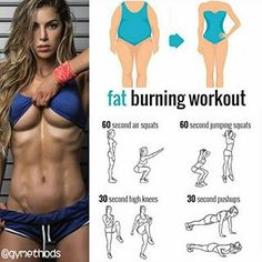 Fat burning workout! Follow us (@gymethods) for the best daily workout tips  ⠀  All credits to respective owner(s) // DM Tag a friend who'd like these tips
