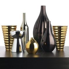 Trending for 2014 – Interior Decorating. Mixing silver and gold