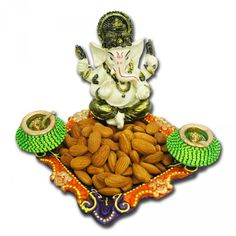 Ganesha+With+Badaam+Diwali+Combo via @giftcart