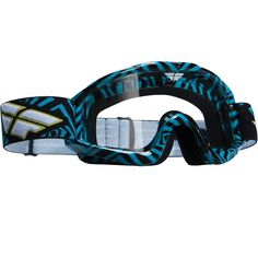 Fly Racing Zone Blue/Black Adult Goggles