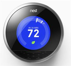 nest thermostat - I love this thing!  It's so beautiful and works so well!