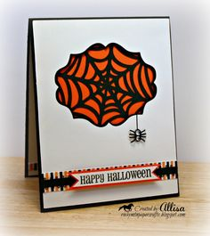 Rocky Mountain Paper Crafts-Spider Web with Cricut Artiste Cartridge