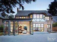 A Seattle home's #exterior. | See MORE at www.luxesource.com. | #luxemag #interiordesign #design #interiors #homedecor