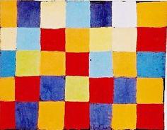 Paul Klee Paintings Names | Paul Klee Paintings - Paul Klee Farbtafel Painting
