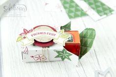 Stampin´ Up - Artisan Design Team - Wie ein Weihnachtslied - Designerpapier Voller Vorfreude - Thinlitsformen Festtags Design - 7