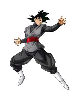 """Goku Oscuro (ゴクウブラック Gokū Burakku), referido ocasionalmente como Oscuro (ブラック Burakku), fue el Zamas del Presente Inalterado quien utilizó las Super Esferas del Dragón para intercambiar cuerpos con Son Goku. Es el principal antagonista junto con Zamas Futuro Alternativo de la Saga de Trunks del """"Futuro"""" de Dragon Ball Super. El nombre Goku Oscuro hace alusión a la oscuridad de su aura y ropa, mientras que su alias del idioma inglés, black, hace alusión al color negro de sus prendas...."""