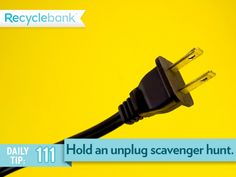 Have an unplug scavenger hunt before vacation.
