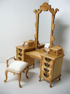 Custom Dollhouse Furniture