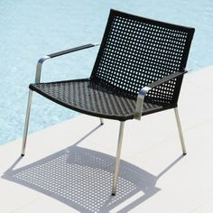 Straw Lounge Chair by Cane-line