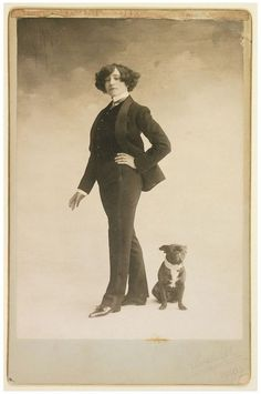 Looks & Books — Colette's Advice Column Vintage Photographs, Vintage Photos, Advice Columns, Vintage Dog, Historical Pictures, Oeuvre D'art, Old Photos, Pugs, Writer