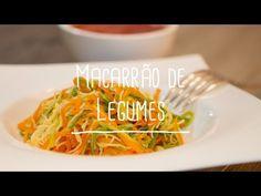 Macarrão de legumes | Receita Saudável - Lucilia Diniz - YouTube