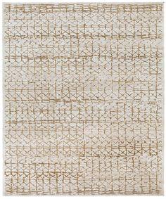 Light grey - natural hemp. Hand knotted in wool + silk, pattern in natural hemp. Made in Nepal. Design Kristiina Lassus.