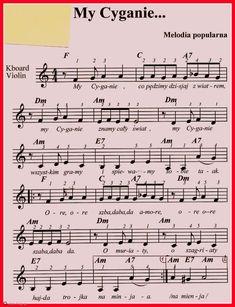 My Cyganie. Cyganie means Gypsies in the Polish language & culture. Polish Language, Kalimba, Piano Sheet Music, Saxophone, Ukulele, Poland, Nostalgia, Culture, Folklore