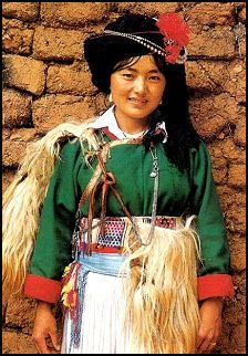 The Mosuo (also known as Nari) is a small minority group in China with some unusual ideas about sex, marriage and the way society should be organized. In fact, until the 20th century marriage didn't even exist in Mosuo culture and their society is organized into matriarchal clans that take care of children collectively like in an Israeli Kibbutzim. .... you go, girl <3